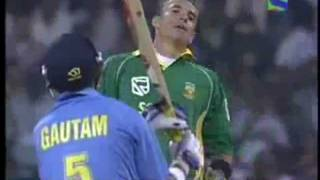 GAUTAM GAMBHIR VS ANDRE NEL -  FUNNIEST SLEDGING OF ALL TIME- WATCH AND COMMENT