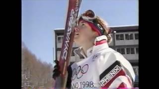 日本中が感動の涙 里谷多英 Tae Satoya 長野五輪女子モーグル金メダル 1998 冬季オリンピックで女性で初めての金メダル 1998 Naganoオリンピック. 里谷多英 検索動画 7