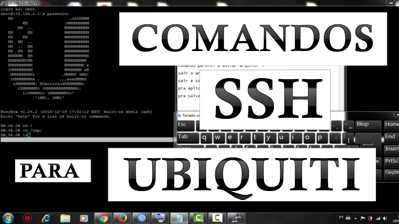 Ubnt ssh command list