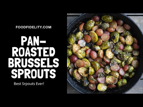 Roasted The city Sprouts and Grapes