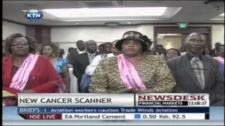 New cervical cancer scanner has been launched in Kenya