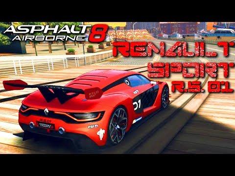 SECRET CREDIT MP CAR?!? Renault Sport R.S. 01 (Rank 1677) Multiplayer in Asphalt 8