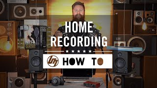 Setting up your First Home Recording Studio | Better Music