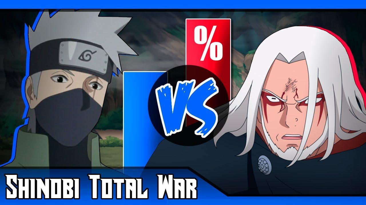 ¿Kashin Koji DESTROZA a Kakashi? 😱 ► Kakashi vs Kashin Koji | Shinobi Total War