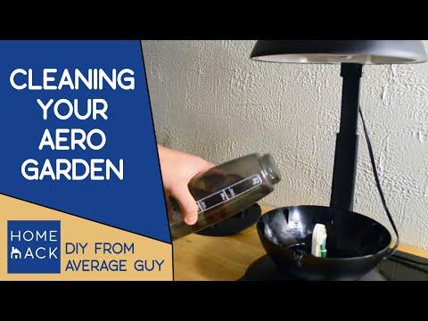 How to clean an AeroGarden | Aerogarden maintenance
