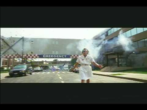 Heath Ledger the joker explosion scene