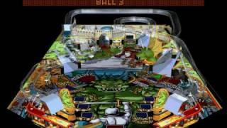 Hyper 3-D Pinball (aka TILT!) Gameplay 3