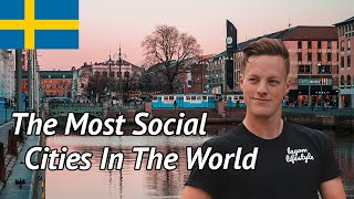 The Most Social Cities In The World (Sweden Crushed It)