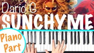 How to play SUNCHYME - Dario G Piano Chords Tutorial