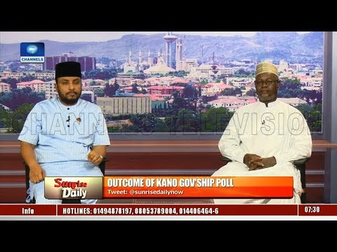 Kano Rerun: APC Nat'l Treasurer, Fellow Member Face Off Over Alleged Violence Pt.1