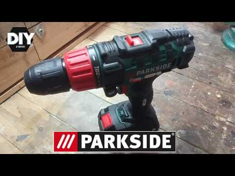 Test cordless drill parkside 20v test avvitatore parkside 20v for Parkside avvitatore