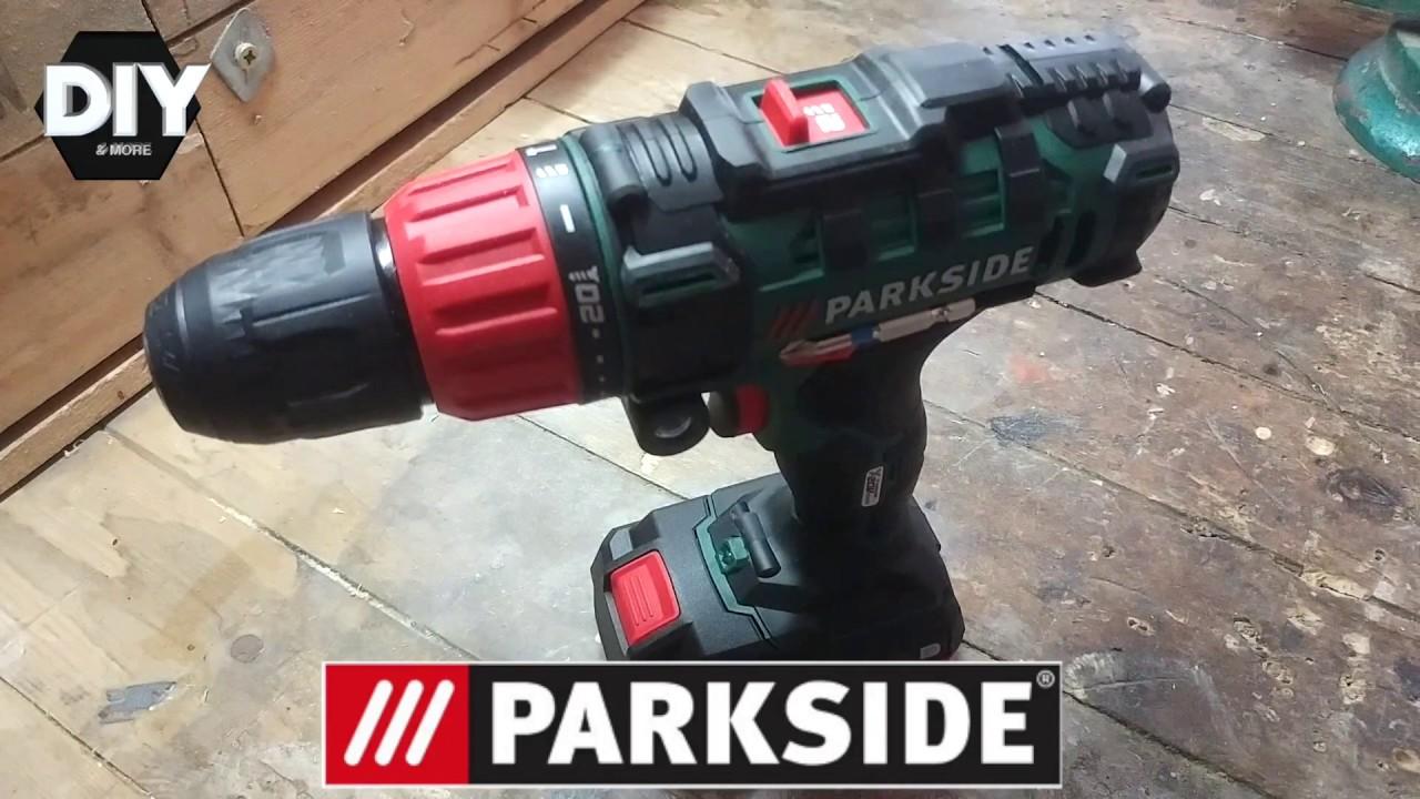Test cordless drill parkside 20v test avvitatore for Trapano avvitatore parkside 20v recensioni