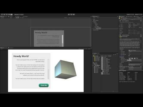 UI Text - Unity Official Tutorials