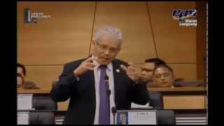 PARLIMEN MALAYSIA : Timbalan Menteri Luar Negeri Jawab Soalan Lisan