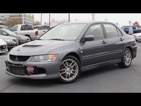 2006 Mitsubishi Lancer Evolution IX Start Up, Exhaust, and In Depth Review