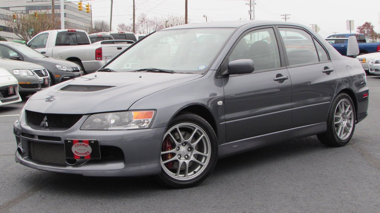2006 Lancer Evo >> 2006 Mitsubishi Lancer Evolution Ix Start Up Exhaust And In Depth Review