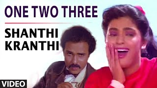 One Two Three Video Song | Shanthi Kranthi | Juhi Chawla