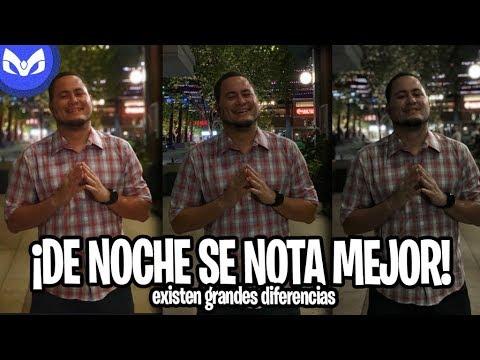 iPhone Xs Max vs Note 9 Vs iPhone X COMPARACION CAMARA VIDEO DE NOCHE