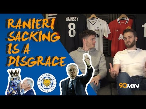 Is Leicester sacking Ranieri a disgraceful move? | Dele Alli horror challenge red card! 90minPreview