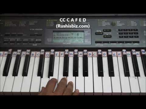Happy Birthday To You Song - Piano Tutorials