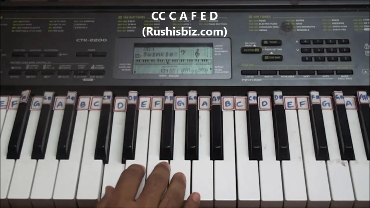 Happy Birthday To You Song Piano Tutorials 917013658813 Pdf