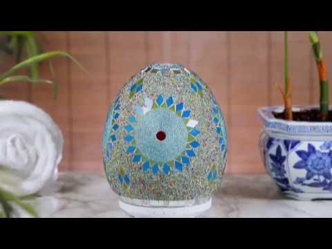 sparoom-jasmine-glass-mosaic-ultrasonic-essential-oil-diffuser