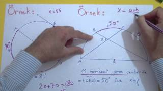 Çemberde Açılar 2 Şenol Hoca Matematik
