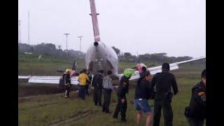 Avión se salió de la pista cuando aterrizaba en aeropuerto del Meta