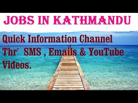 Jobs in KATHMANDU  for freshers & graduates. industries, companies. NEPAL.
