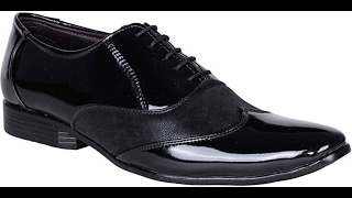Bachini Lace Up  Black Shoe Unboxing