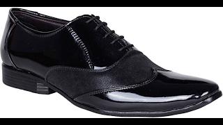 Bachini Lace Up  Black Shoe Unboxing