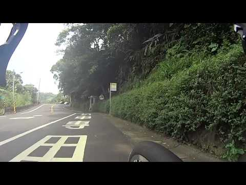 (HD) Taiwan Cycling Record - WuLai parking yard to Xindian MRT station 單車騎乘紀錄 烏來 至 新店捷運總站
