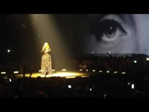 Hello - Adele - TD Garden - Boston - 9-14-2016