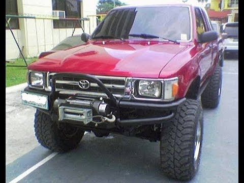 lifted toyota pickup river crossing tip over youtube. Black Bedroom Furniture Sets. Home Design Ideas