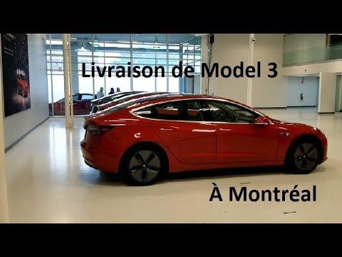 Livraison Model 3 à Montréal Avec Explications