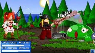 Epic Battle Fantasy 1: Capítulo 1. Juguemos juegos absurdos