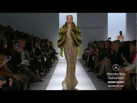 DENNIS BASSO: MERCEDES-BENZ FASHION WEEK FALL 2013 COLLECTIONS