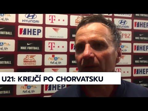 U21 | Trenér Karel Krejčí po výhře 2:1 v Chorvatsku