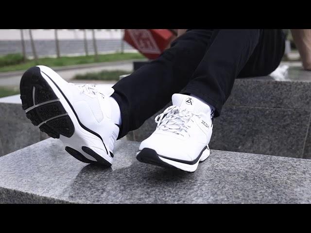 Zeba - Hands Free Sneakers - YouTube