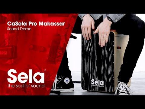 Sela SE 057 CaSela Pro Makassar (Cajon Sound Demo)