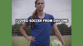 "USWNT - Alex Morgan: The Kicks ""I Loved Soccer From Day One"" - September 6, 2016"