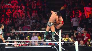 The Miz defends his newly won Intercontinental Championship against...