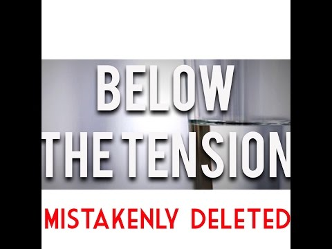 Below the Tension - Blurb 3 - Mistakenly Deleted