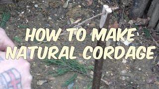 Bushcraft Cordage: How To Make Plaited Cordage