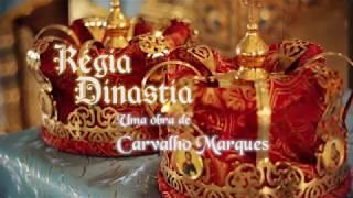 capa de Régia Dinastia de Carvalho Marques