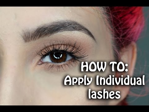 31bcce57ee1 HOW TO: Apply Individual Lahes | Ft. Ardell Individual Lashes ♡ - YouTube