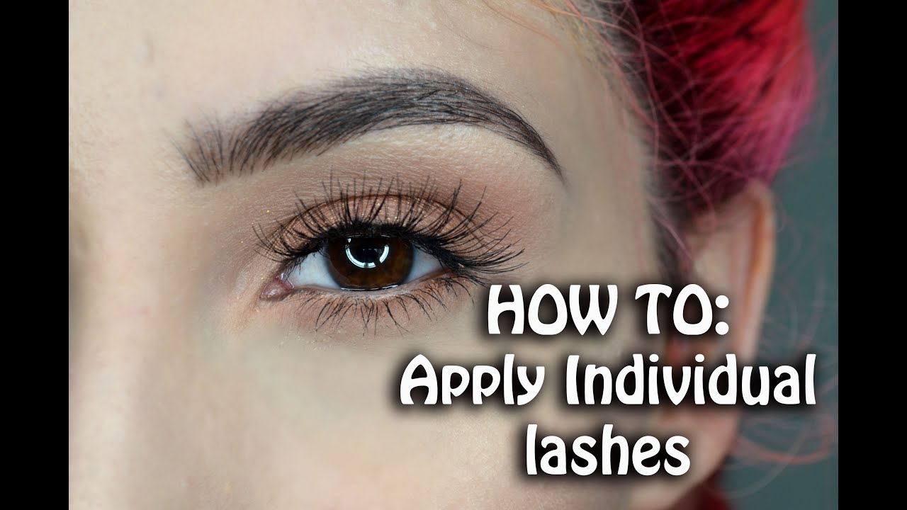 dd7888deb20 HOW TO: Apply Individual Lahes | Ft. Ardell Individual Lashes ...
