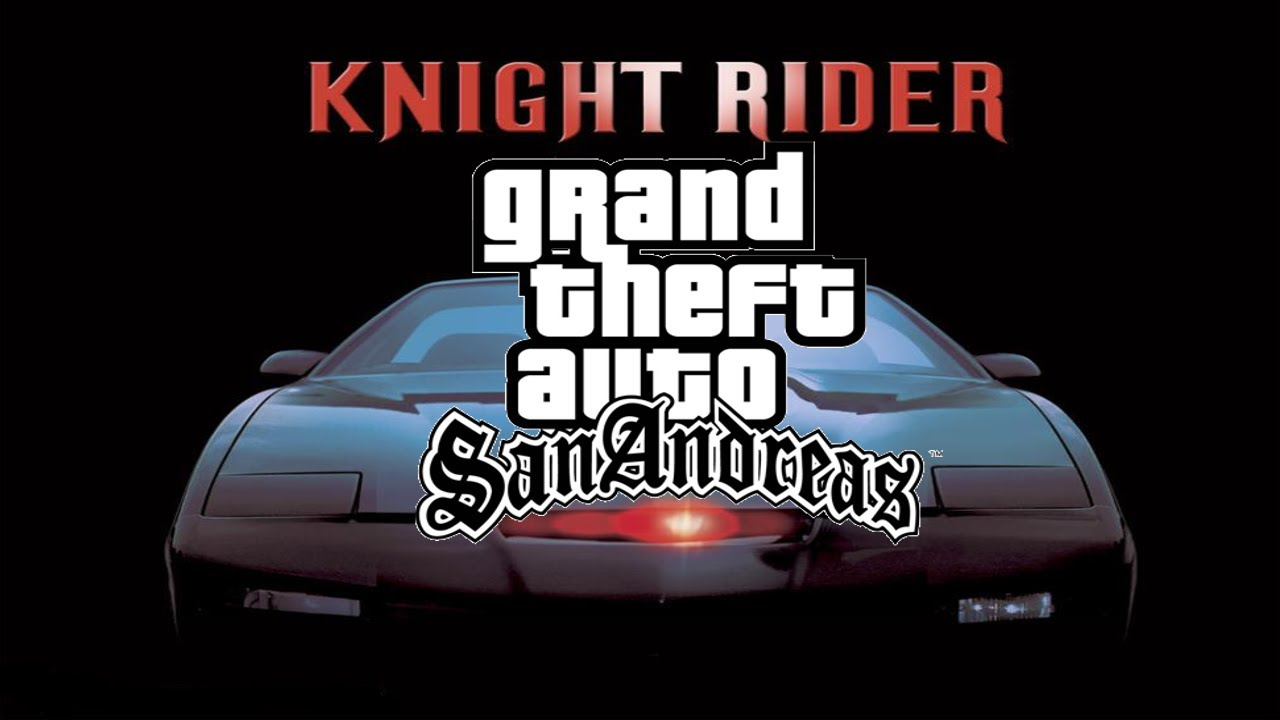 grand theft auto san andreas knight rider mod youtube. Black Bedroom Furniture Sets. Home Design Ideas