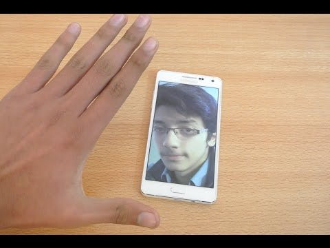 Samsung Galaxy A5, A3, A7 - Palm Selfie Demo HD
