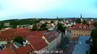 Galaxy Visitor 6 HD Weimar von oben
